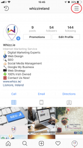 Top Tips on how to add multiple Instagram Accounts - www.whizz.ie