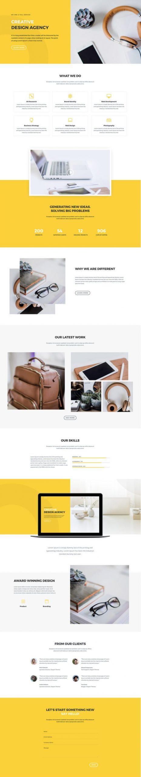 Elegant Themes - Divi-creative-design-agency