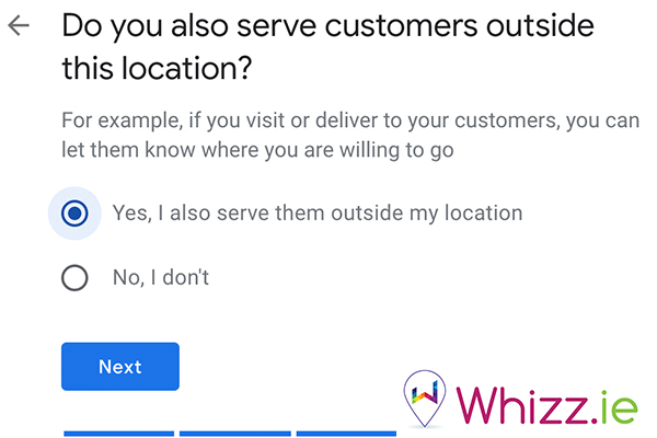 Do-you-serve-customers-outside-this-location-on-Google-My-Business-by-Whizz.ie